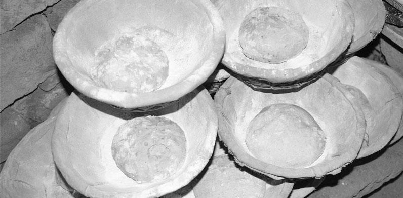 Boule de pâte à pain